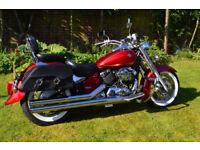 Like new trophy winning bike yamaha xvs 650 classic dragstar v star a2 legal licence