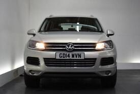 VOLKSWAGEN TOUAREG 3.0 V6 SE TDI BLUEMOTION TECHNOLOGY 5d AUTO 202 BH (silver) 2014