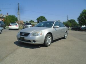 2003 NISSAN ALTIMA SL AUTOMATIC TRANS   LEATHER!  LOW KMS!