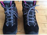 Karrimor womens Hot Rock Weathertite hiking/trekking boots. UK 5.5