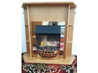 Dimplex Convector Heater - real wood surround