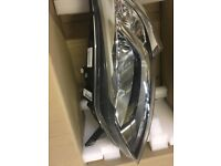 Pair left hand drive headlights fit a Fiat Ducato van as new little used