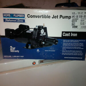 Convertible Jet Pump 1/2hp