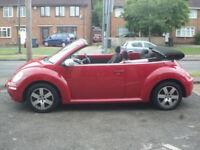 2006 Volkswagen Beetle 1.6 Luna 2DR 06 REG Petrol Convertible Red