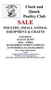 SALE in HAZELRIDGE AUG 26th
