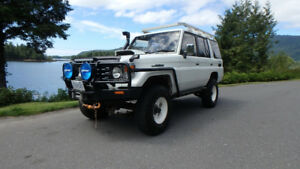 1996 Toyota Land Cruiser HZJ77 ZX Wagon