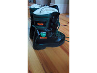 Treemme Safety boots, Classe 2 chainsaw safety boots