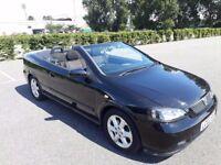 2002 VAUXHALL ASTRA CONVERTIBLE SOFT TOP - CHEAP SUMMER CAR