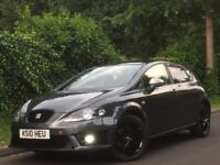 2010 SEAT LEON 2.0L TDI AUTO+FACELIFT MODEL+FULL FR REPLICA INSIDE OUT+FSH+LOW MILEAGE+P/X WELCOME