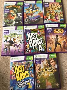 Lot of Xbox 360 Kinect games