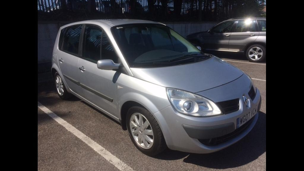 2007 renault megane scenic 1 6 vvt only 68 000 miles in bristol gumtree. Black Bedroom Furniture Sets. Home Design Ideas