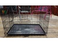 DOG CRATE - Approx 95cm x 70 cm