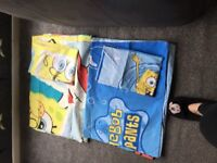 2 spongebob single duvet sets