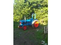 Fordson major classic tractor