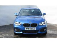 2016 BMW 1 Series 2016 16 BMW 116 D M Sport New Model Diesel blue Manual