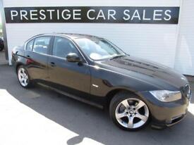 BMW 3 SERIES 2.0 318D EXCLUSIVE EDITION 4d 141 BHP (black) 2011