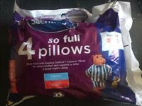 Two brand new Silent night 'So Full' Pillows