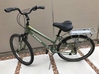 Ladies Commuter Bicycle & Gear