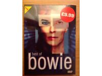 Best of Bowie DVD video- Brand New!