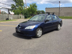 2005 Honda Civic Sedan manual