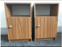 Bedside tables pair