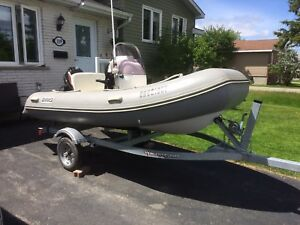 Brigs inflatable boat