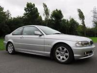 BMW 318 Ci COUPE 2.0 AUTOMATIC** 85000** 1 OWNER ** FULL LEATHER