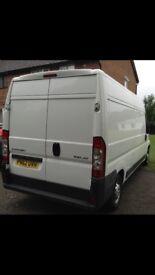 2012/62plate Citroen relay van high top 2.2 hdi needs new oil pump starts and drives £2750..