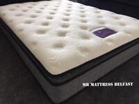 💜💜 Luxury Half price ~ 2000 pocket sprung senator ~ pillow top ~ 12 inch deep hotel mattresses -