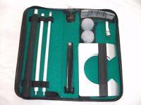 Indoor Golf Putting Set. Unused & Still In Original Case.