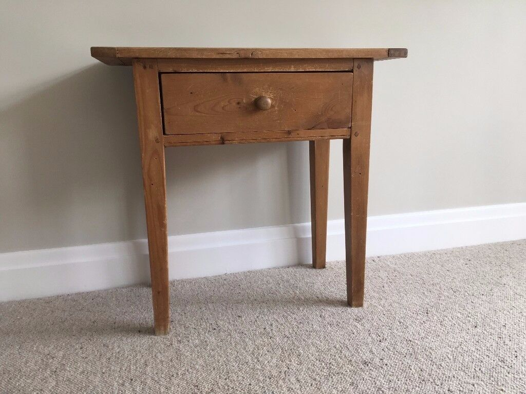 Solid pine console table ideal for upcyclingrestoring in solid pine console table ideal for upcyclingrestoring geotapseo Gallery