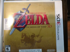 The Legend of Zelda : Ocarina of Time 3DS---25$ COMME NEUF