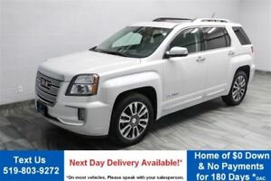 2016 GMC Terrain DENALI AWD!  LEATHER! NAV! SUNROOF! POWER LIFT