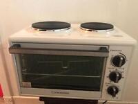 Cookworks mini oven and hob