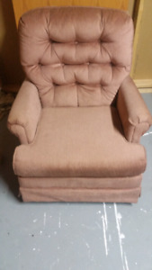 Sofa couch for sale - light red