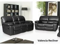 SPECIAL LEATHER RECLINER SOFA DEAL THIS WEEK ONLY CALL NOW many other sofas to see look at all pics