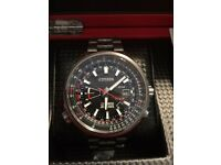 CITIZEN RED ARROWS LIMITED EDITION TITANIUM WATCH