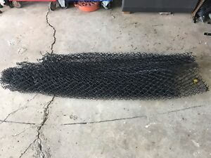 Roll of black 5 foot fencing