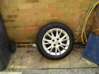 VAUXHALL COMBO SE ALLOY WHEEL AND TYRE OFFERS PLEASE NO TEXTS