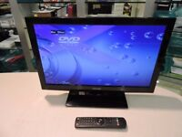 """Toshiba 22DL702B 22"""" LED TV wit Built in DVD"""