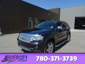 2011 Jeep Grand Cherokee AWD OVERLAND Accident Free,  Navigation
