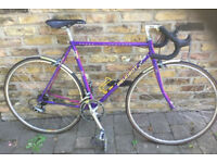 Vintage road racing bike PEUGEOT frame size 21inch - 14 speed, Shimano, serviced WARRANTY