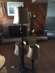 Set of 3 Lamps
