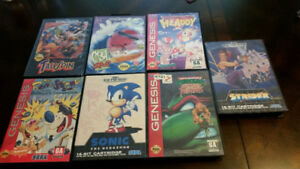 Genesis and N64 Games for Sale