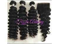 Brazilian, Peruvian, Malaysian, Indian and Human Hair Vendor/Seller