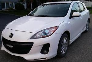 2012 Mazda Mazda3 Sport GS SKY Groupe de luxe: Cuir+toit ouvrant