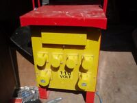 110V SITE TRANSFORMER LITTLE USE