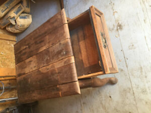 Table with drawer for restoration