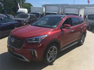 2017 Hyundai Santa Fe XL Limited 6 seater tow full load