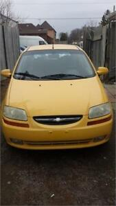 2006 CHEVY AVEO AUTOMATIC HATCHBACK SAFETY INCLUDED